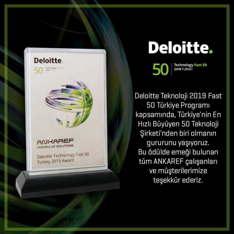 Deloitte Teknoloji Fast 50 Ödülü 2019