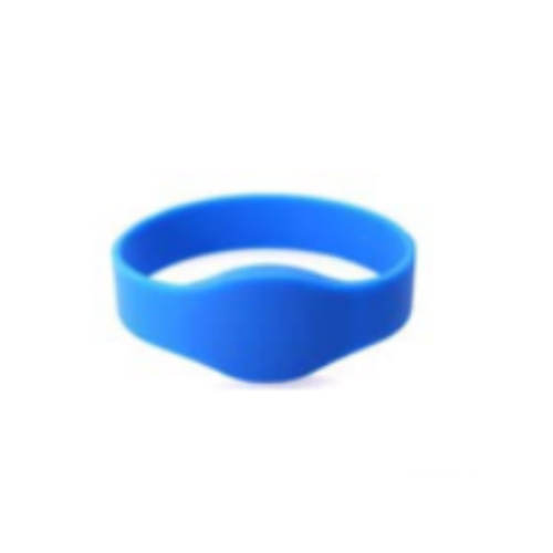 Oval Silicon Wristband